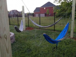 Brilliant Hammock Ideas For Backyard 39