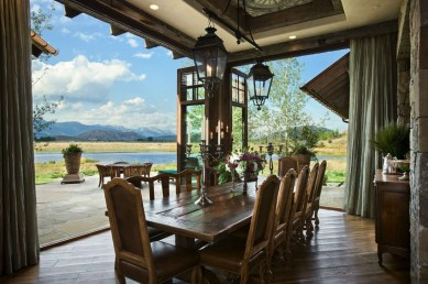Outstanding Outdoor Dining Room Ideas 14