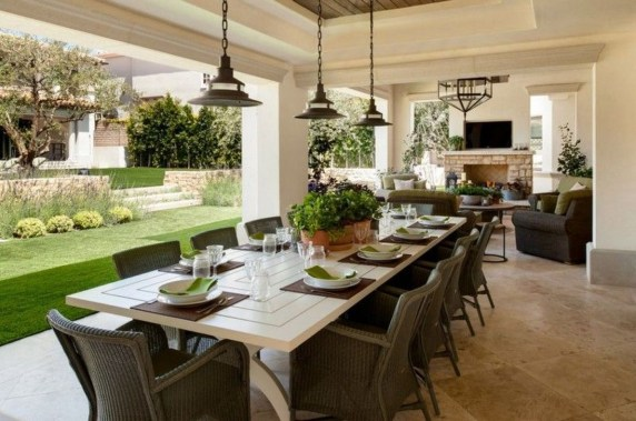 Outstanding Outdoor Dining Room Ideas 35