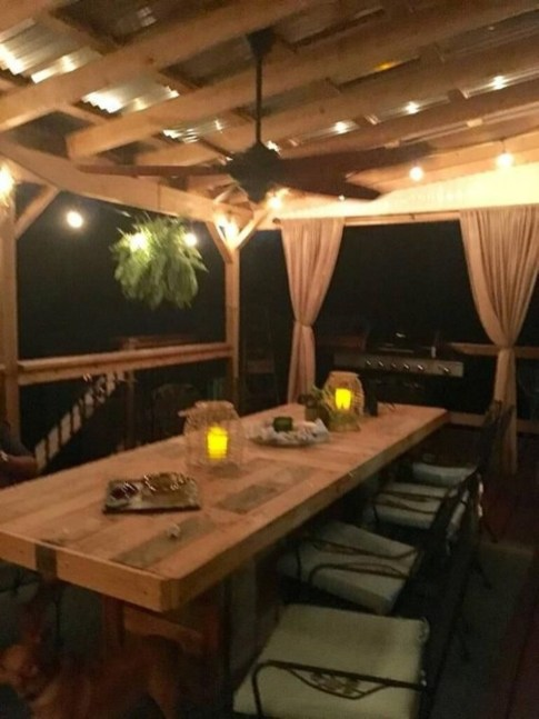 Outstanding Outdoor Dining Room Ideas 41