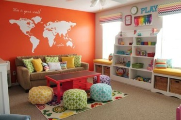 Popular Tiny Playroom Decoration Ideas You Can Select This 05