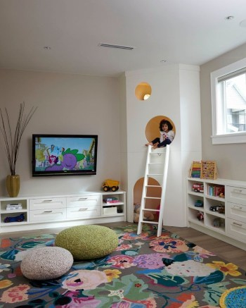 Popular Tiny Playroom Decoration Ideas You Can Select This 12