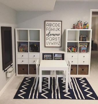 Popular Tiny Playroom Decoration Ideas You Can Select This 24