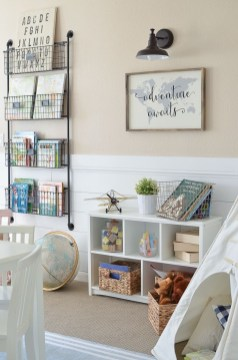 Popular Tiny Playroom Decoration Ideas You Can Select This 26