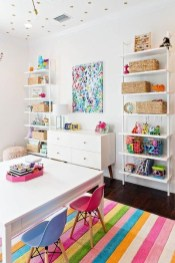 Popular Tiny Playroom Decoration Ideas You Can Select This 50