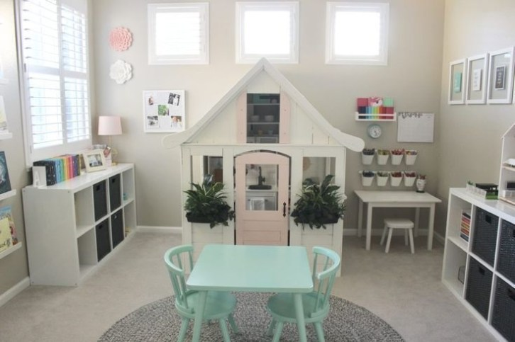 Popular Tiny Playroom Decoration Ideas You Can Select This 52