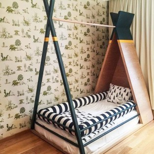 Smart Montessori Ideas For Baby Bedroom 12