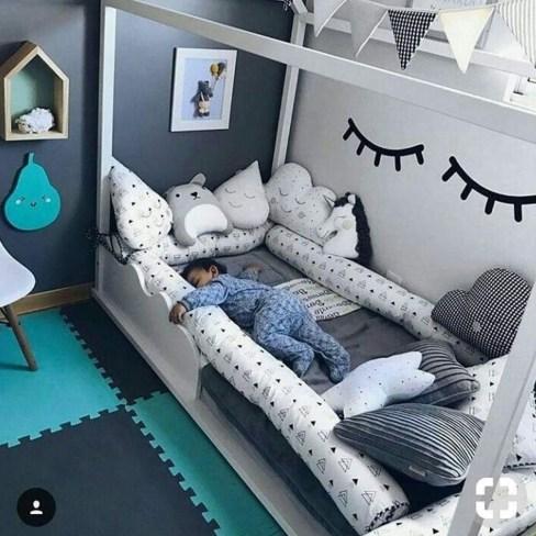 Smart Montessori Ideas For Baby Bedroom 16