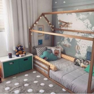 Smart Montessori Ideas For Baby Bedroom 20