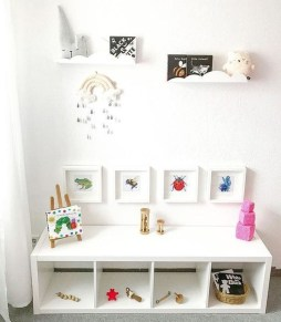 Smart Montessori Ideas For Baby Bedroom 36