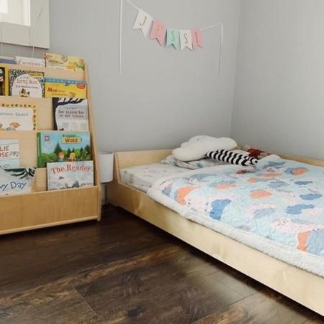 Smart Montessori Ideas For Baby Bedroom 39