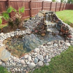 Stunning Backyard Aquarium Ideas 36