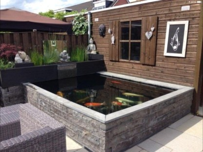 Stunning Backyard Aquarium Ideas 46