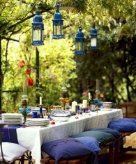 Wonderful Outdoor Dining Room Ideas With Rural Style 11