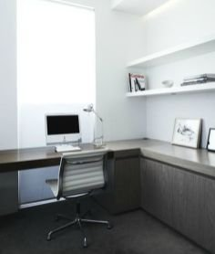 Charming Home Office Cabinet Design Ideas For Easy Storage 02