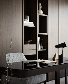 Charming Home Office Cabinet Design Ideas For Easy Storage 12