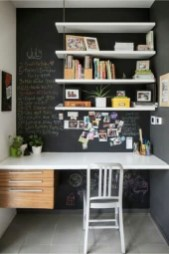 Charming Home Office Cabinet Design Ideas For Easy Storage 20