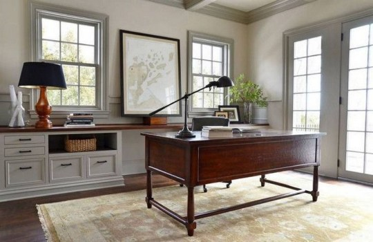 Charming Home Office Cabinet Design Ideas For Easy Storage 24