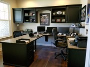 Charming Home Office Cabinet Design Ideas For Easy Storage 42