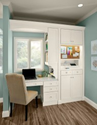 Charming Home Office Cabinet Design Ideas For Easy Storage 46