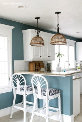Charming Paint Ideas For Kitchen Room 34
