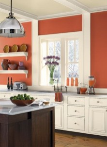 Charming Paint Ideas For Kitchen Room 41
