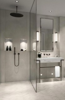 Classy Bathroom Design Ideas With Little Space 11