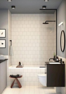 Classy Bathroom Design Ideas With Little Space 13