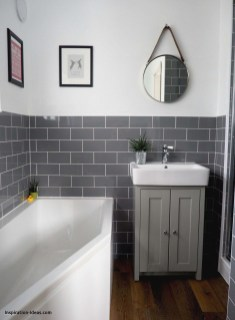 Classy Bathroom Design Ideas With Little Space 14