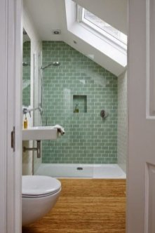 Classy Bathroom Design Ideas With Little Space 46