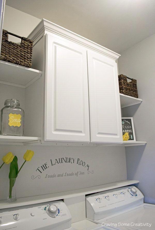 Cozy Laundry Room Storage Design Ideas 39