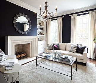 Extraordinary Living Room Design Ideas With Floor Granite 30