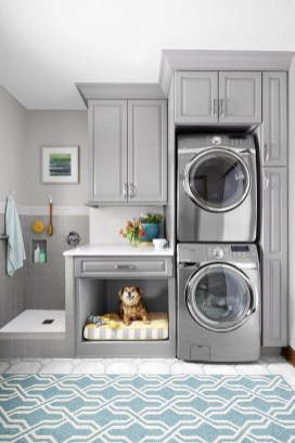 Fabulous Functional Laundry Room Decoration Ideas On A Budget 09