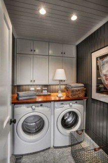 Fabulous Functional Laundry Room Decoration Ideas On A Budget 13