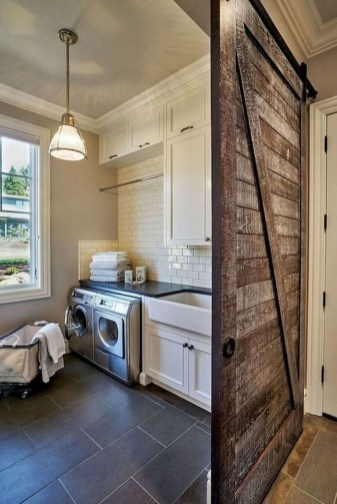Fabulous Functional Laundry Room Decoration Ideas On A Budget 32