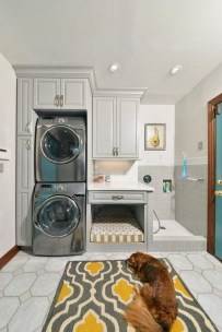 Fabulous Functional Laundry Room Decoration Ideas On A Budget 35
