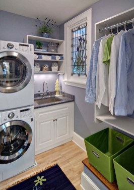Fabulous Functional Laundry Room Decoration Ideas On A Budget 39