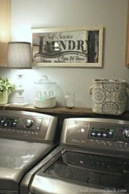 Fabulous Functional Laundry Room Decoration Ideas On A Budget 44