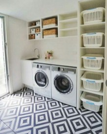 Fabulous Functional Laundry Room Decoration Ideas On A Budget 45