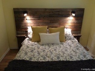 Fantastic Diy Bedroom Headboard Ideas To Make It More Comfortable 20