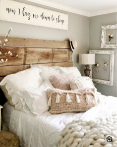 Fantastic Diy Bedroom Headboard Ideas To Make It More Comfortable 28