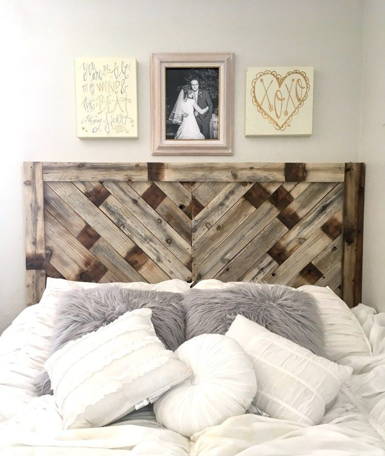 Fantastic Diy Bedroom Headboard Ideas To Make It More Comfortable 33