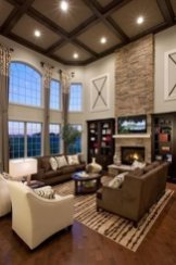 Gorgeous Ceiling Design Ideas For Living Room To Apply Asap 01