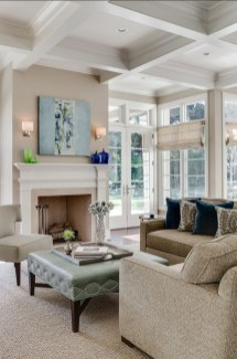 Gorgeous Ceiling Design Ideas For Living Room To Apply Asap 11