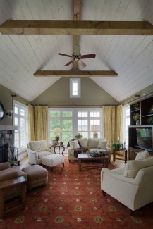 Gorgeous Ceiling Design Ideas For Living Room To Apply Asap 12