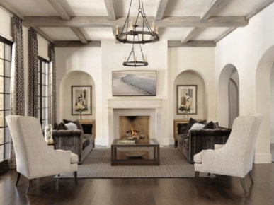 Gorgeous Ceiling Design Ideas For Living Room To Apply Asap 42
