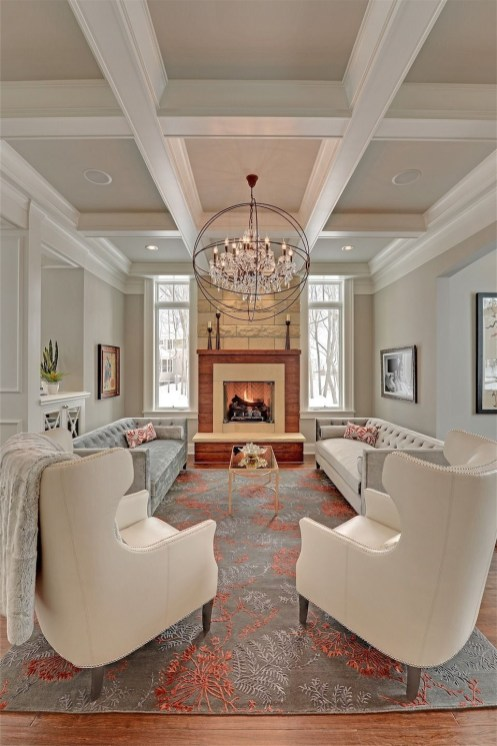 Gorgeous Ceiling Design Ideas For Living Room To Apply Asap 46