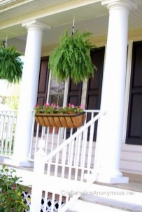 Latest Home Patio Design With Hanging Plants 02