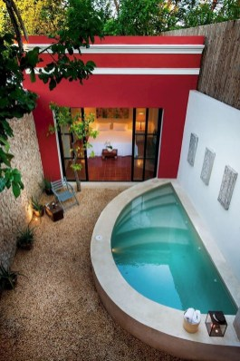 Perfect Backyard Home Design Ideas With Swimming Pool 02