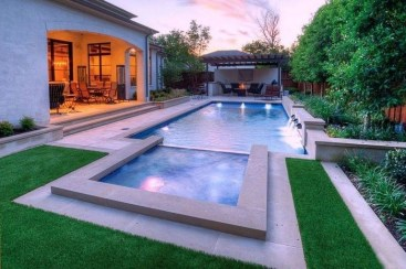 Perfect Backyard Home Design Ideas With Swimming Pool 08